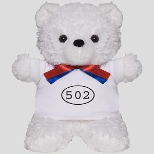 502 Oval Teddy Bear