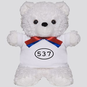 537 Oval Teddy Bear