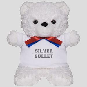 SILVER BULLET Teddy Bear