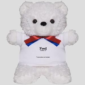 Fred - Version 1.0 Teddy Bear