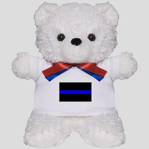 The Thin Blue Line Teddy Bear