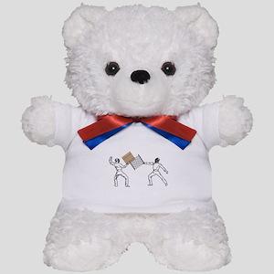 Fencing Teddy Bear