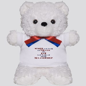 Women Can Fake Teddy Bear
