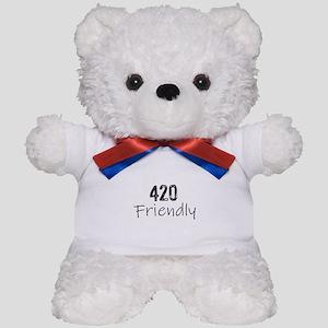420 Friendly Teddy Bear