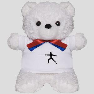 Guy Fencer Teddy Bear