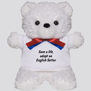 Adopt English Setter Teddy Bear