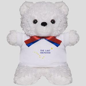 Alaska The Last Frontier Stat Teddy Bear
