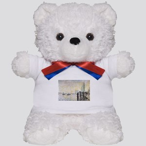 Claude Monet Westminster Bridge Teddy Bear