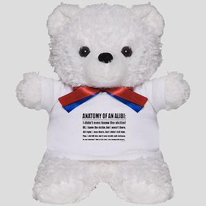Alibi1 Teddy Bear