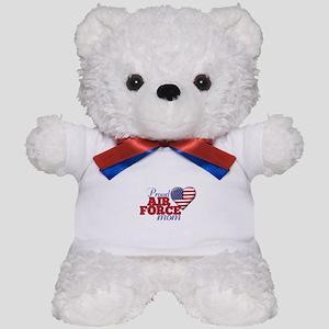 Proud Air Force Mom - Teddy Bear