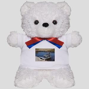 Florida swamp airboat 2 Teddy Bear