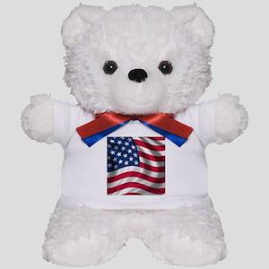 usflag Teddy Bear