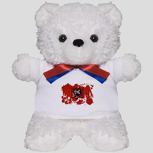 Albania Flag Teddy Bear