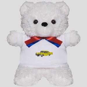 1958 Ford Fairlane 500 Yellow Teddy Bear