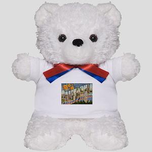 California CA Teddy Bear