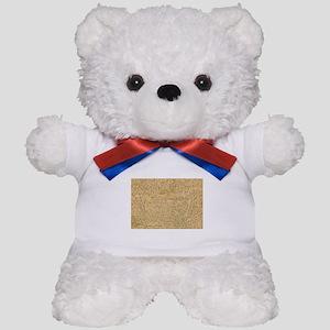 Old Manuscript Teddy Bear