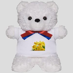 Daffodils Style Teddy Bear