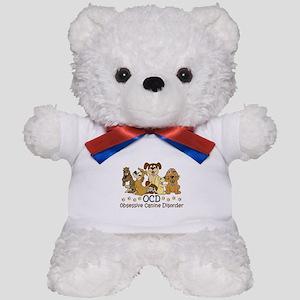 OCD Obsessive Canine Disorder Teddy Bear