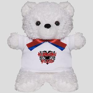 Albanian Blood Teddy Bear