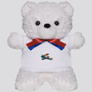 VINTAGE BIPLANE Teddy Bear