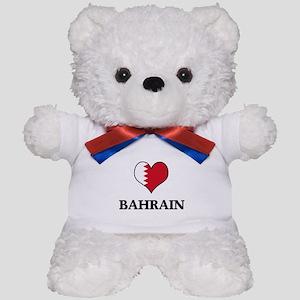 Bahrain heart Teddy Bear