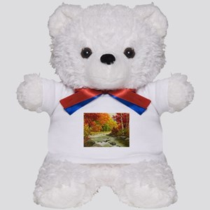 Autumn Landscape Teddy Bear