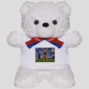 Starry - Airedale #1 Teddy Bear