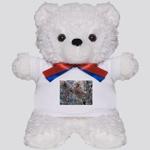 Beautiful Photograph of Summer Blossoms Teddy Bear