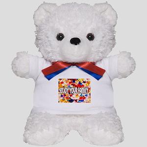 Enjoy Your Family Pills Teddy Bear