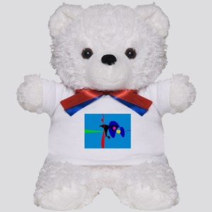Abstract Expressionism Simple Digital Art Teddy Be