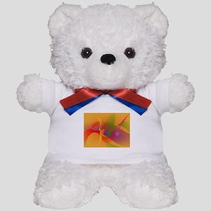 Digital Kandinsky Emulation Teddy Bear