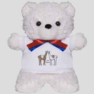 i llove llamas Teddy Bear