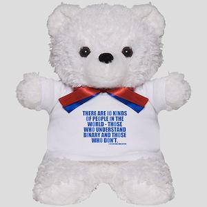 10 Kinds of People Teddy Bear