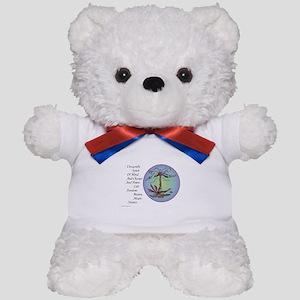 BRIGHT DRAGONFLY SPIRIT Teddy Bear