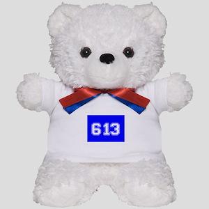 Jewish 613 Teddy Bear
