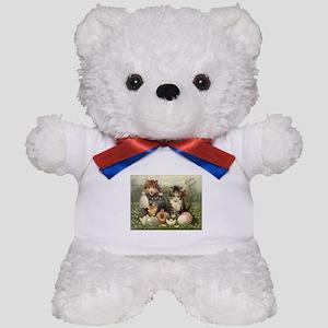 Vintage Easter Teddy Bear