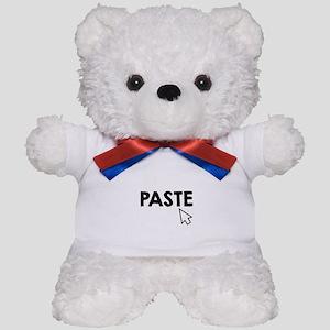 Paste Black Teddy Bear