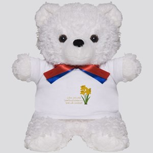 Something To Believe Teddy Bear