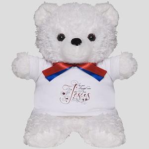 Beautiful name of Jesus Teddy Bear