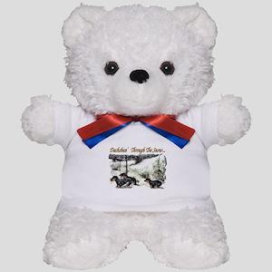 Dachshund Christmas Teddy Bear