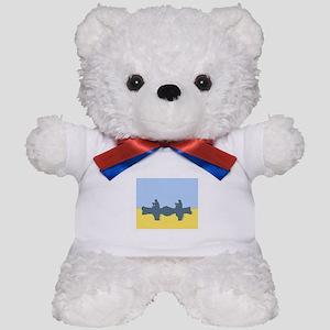 CHALK BLUE SKY CANOE Teddy Bear