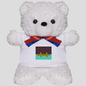NIGHT SKY CANOE Teddy Bear