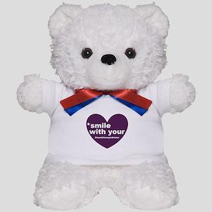 new moebius heart smile Teddy Bear
