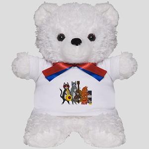 Jazz Cats Teddy Bear