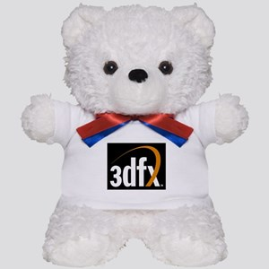 3dfx Interactive Inc Corporate Logo Teddy Bear
