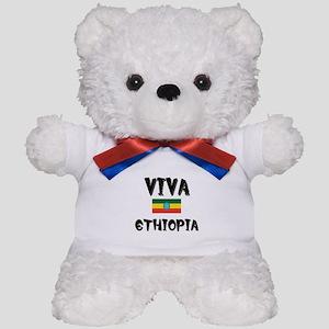 Viva Ethiopia Teddy Bear