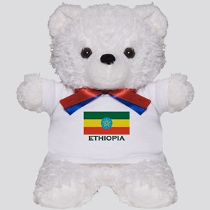 Ethiopia Flag Merchandise Teddy Bear