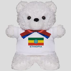 Ethiopia Flag Stuff Teddy Bear