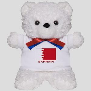 Bahrain Flag Merchandise Teddy Bear