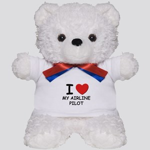 I love airline pilots Teddy Bear